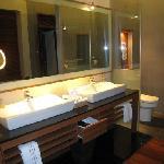 Water villa vanity
