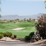 A typical shot from The Boulders golf course...stunning!