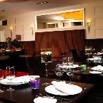 Das Restaurant in Hotelnähe