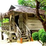 the cottage nearest the beach