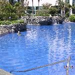 Marriott's heated pool
