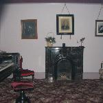 Interior of (haunted) living room