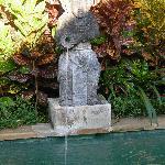 Private Plunge Pool Statue