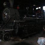 One of steam locomotives