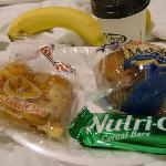 Breakfast snacks to be enjoyed in room