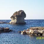 il Fungodi Lacco Ameno, posto all'ingresso del porto