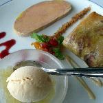 Three ways to eat foie gras - starter