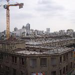Vue deface du 5iem étage (Batiment en rénovation).