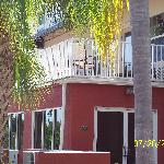 exterior view of balcony