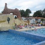 Another view of Les Genets Pool