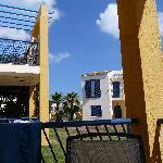 View from verander