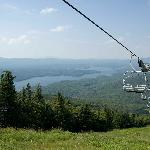 One of many chairlifts on Snow Mountain
