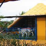 Balcony for King Tut's room