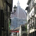 hotel dali, duomo is the background
