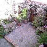 El patio de La Troje Oropesana