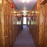 Hallway where we stayed (Lenape Bldg)