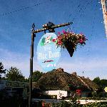 The Blue Door Sign/Exterior