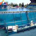 The Orca show tank