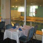 Dining room/ indoor pool