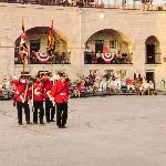 Fort Henry Guard Colour Party