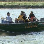 Cabela's boat fishing for kings