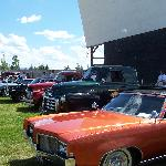 The Spud Drive-in car show on the 4th of July