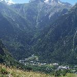 View to Venosc
