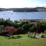 Braganza gardens and St Mawes harbour