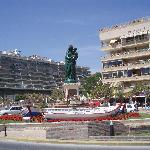 A small square in Fuengirola