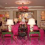 The Rose Lounge, very luxurious at a price!