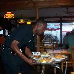 Chris the waiter