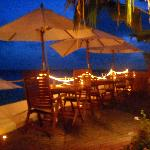 upper dining by the water