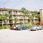 Outside of the Days Inn Motel