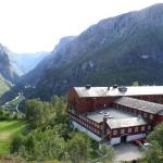 View to Stalheim Hotel