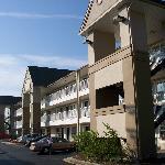 Exterior of hotel (facing freeway)