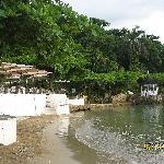 Dining & beach area