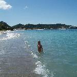 Beach outside Jenny´s -Grand Anse