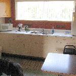 The kitchen ( no stove)