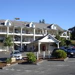 Front view of the Comfort Inn