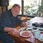 Pheasant sashimi and other yummy pheasant dishes- Daeyooland, Jeju, Korea