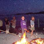 Roasting Marshmallows by Lake