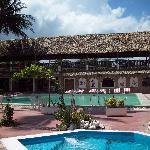 Pools at restaurant side