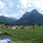 doussard landing field