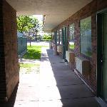 Ground-floor corridor