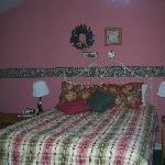 Bed in Cabin 1