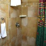 Tiled shower - some are different