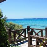 Views from Sani Beach Club