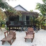 Beach front bungalow