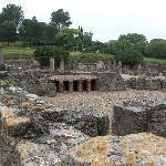 Roman baths at Glanum