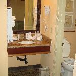 Sink / vanity - room 219